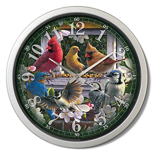 Reflective Art 15 Springtime Melody Classic Clock