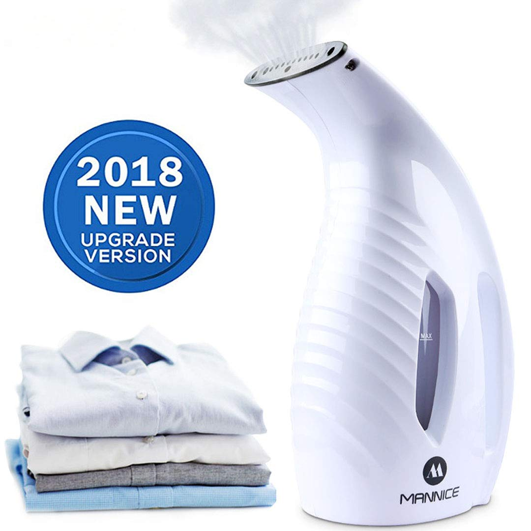 Mojonnie Clothes Steamer Handheld Garment Steamer Powerful Portable Fabric Steamer Mini Steamer for Clothes for Home and Travel