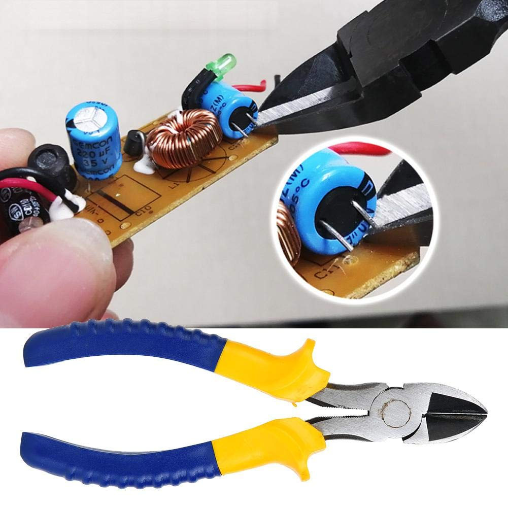 Copa de cable de m/áquina de corte diagonal de coupant la/ 6/pulgadas Alicates de corte diagonal /Alicates de alambre de cobre