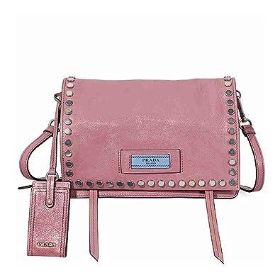 7c2241d4903ad Prada damen Schultertasche rosa  Amazon.de  Schuhe   Handtaschen