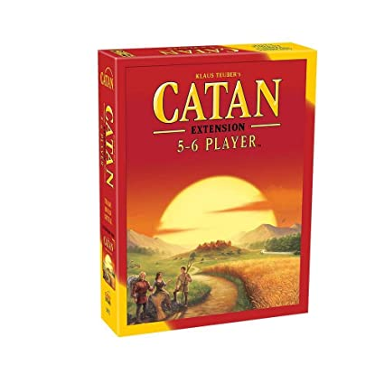 Jaynil Enterprise Catan Extension Game of 5-6 Players, Family and Friends Entertainment Board Game (Multicolor)