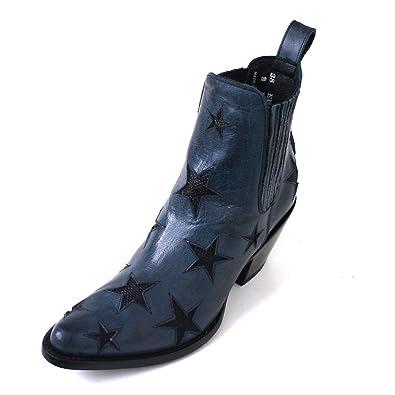 magasin le plus populaire pas cher à vendre Mexicana , Bottes Chelsea femme - bleu - Blau (blue black ...
