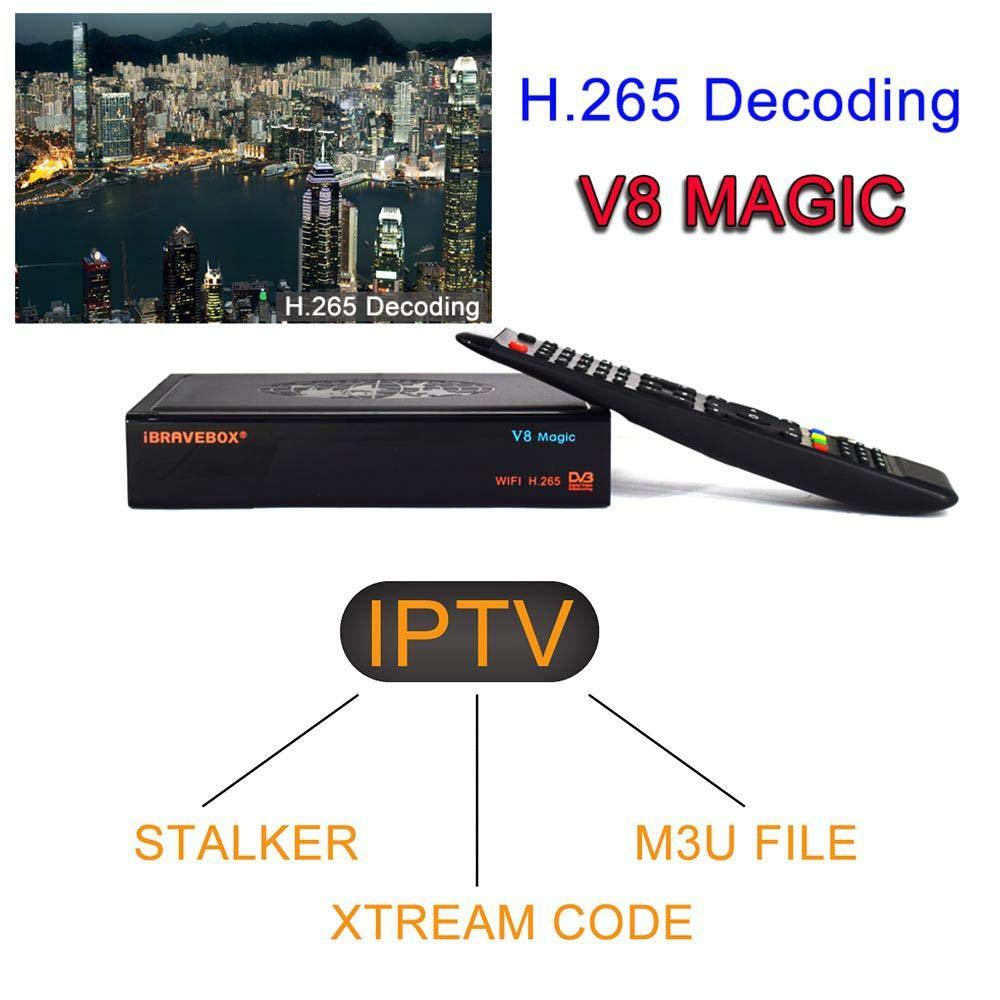 Tenlso 2019 Satellite Receiver IBRAVEBOX V8 Magic DVB-S2
