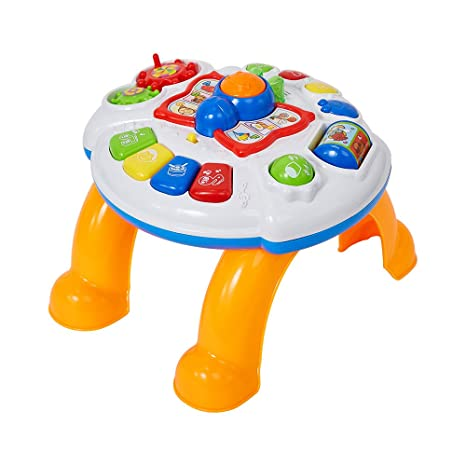 amazon com colortree kids small play and learning table activity rh amazon com kids activity desk and chair set Step2 Art Master Activity Desk
