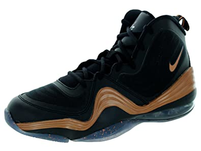 Nike Kids Air Penny 5 (GS) Scarpa da Basket, Nero (Black