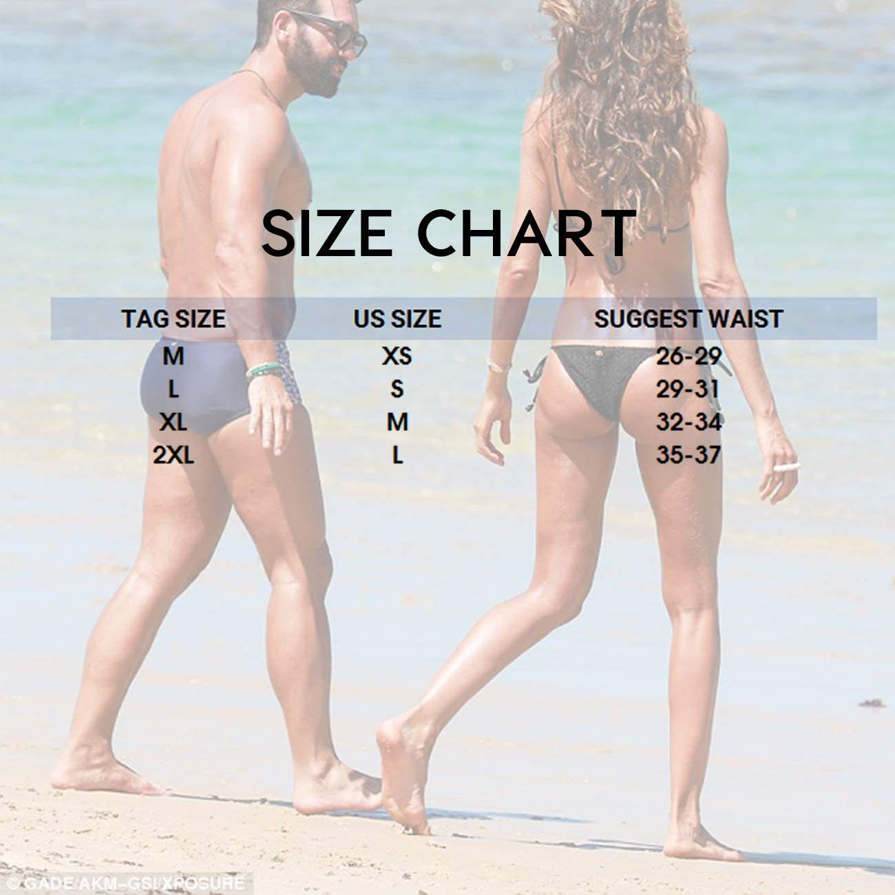 MIZOK Mens Quick Dry Swim Briefs Bikini Swimsuit Board Shorts with Adjustable Drawstrig