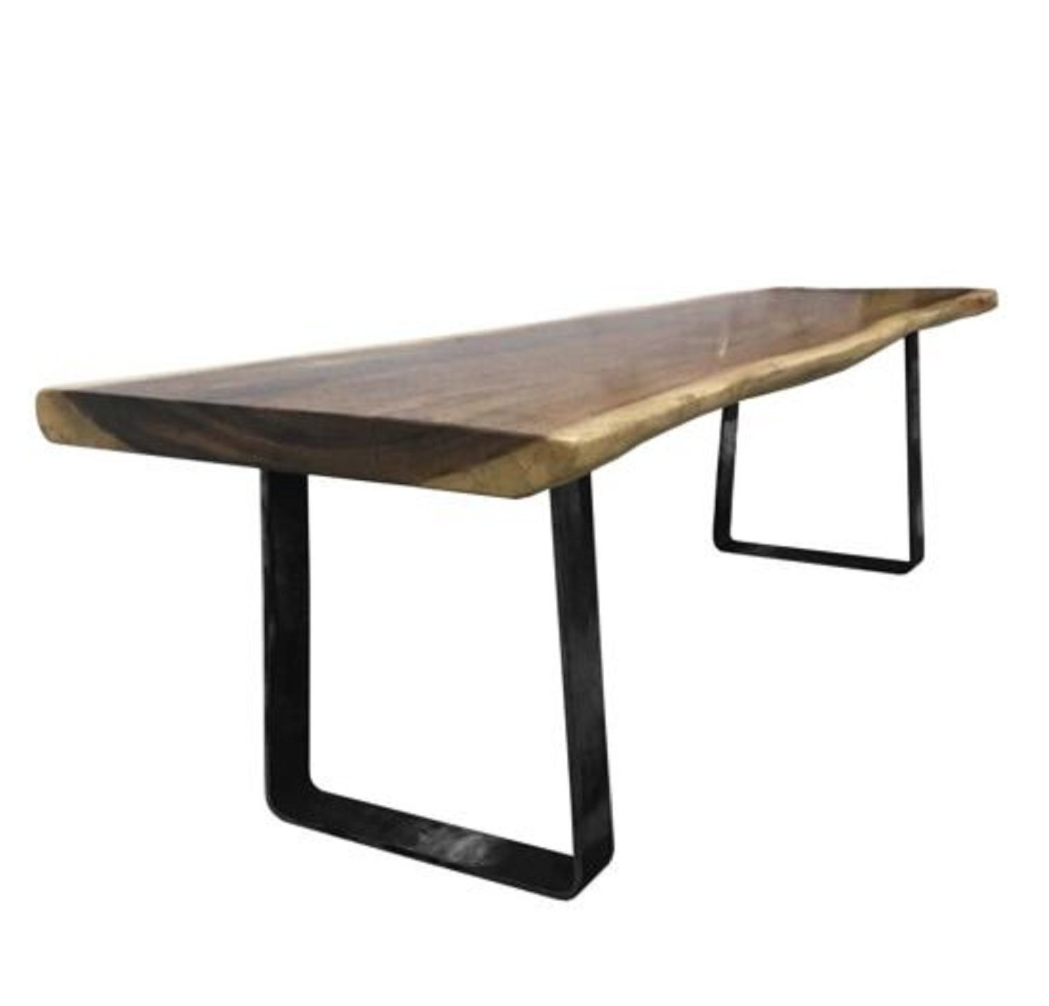 USA Premium Store 16'' Industrial Metal Coffee Table Legs Trapezoid Heavy Duty DIY Furniture