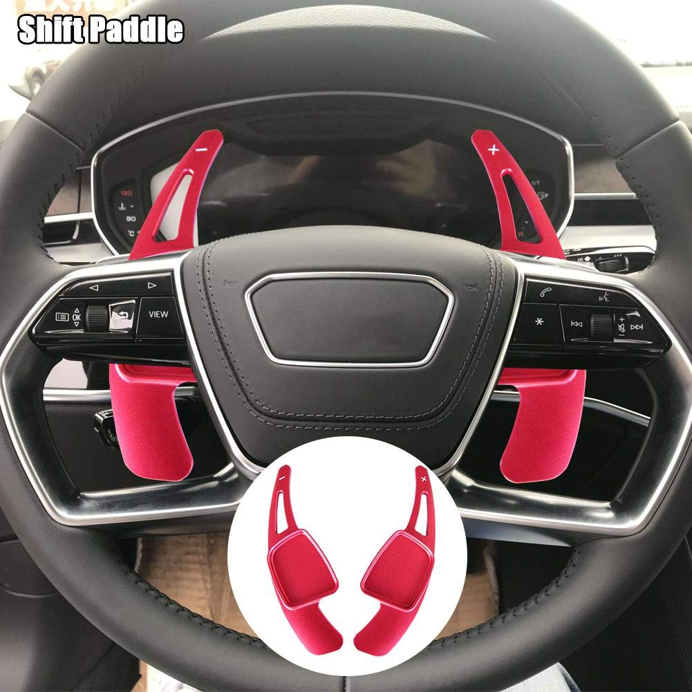 Maple leave Steering Wheel Shift Paddle For Audi A3 A4L A5 A6L A7 A8 S3 S5 S6 Q3 Q5 Q7 TT TTS black