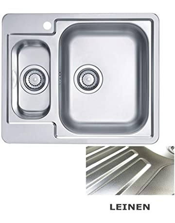 Lavello Cucina 1 Vasca Grande.Amazon It Lavello A Una Vasca E Mezzo Fai Da Te