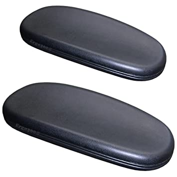 Chair Arm Pads for fice and Desk Chairs plete PAIR with Attachment Screws Soft Cushioning for