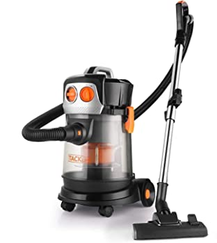 TACKLIFE 18.93L Wet-Dry Water Filtration Vacuum