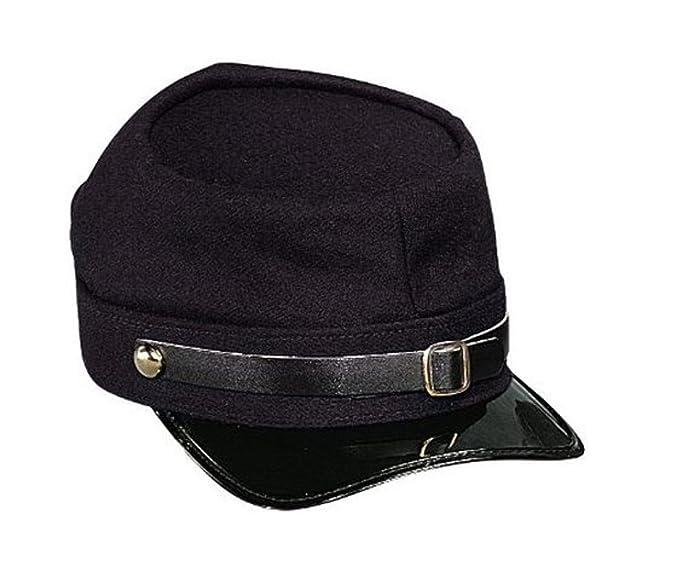 Amazon.com  Navy Blue Army Civil War Union Kepi Halloween Costume  Adjustable Hat Cap  Clothing a6798867fe