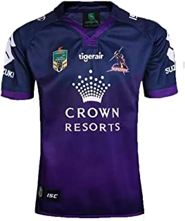 DUOLANG Cotton Fashion Melbourne Storm Rugby Jersey