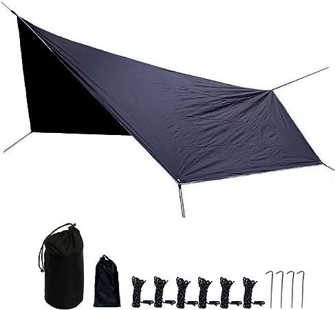 TRIWONDER Waterproof Camping Tent Tarp Shelter Tarpaulin Hammock Rain Fly Tent Footprint Groundsheet Sunshade Beach Picnic Mat for Hiking Picnic