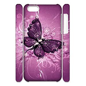 ALICASE Design Diy hard Case Butterfly For Iphone 4/4s [Pattern-1]