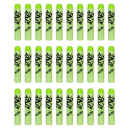 Official Nerf Zombie Strike 30 Dart Refill Pack