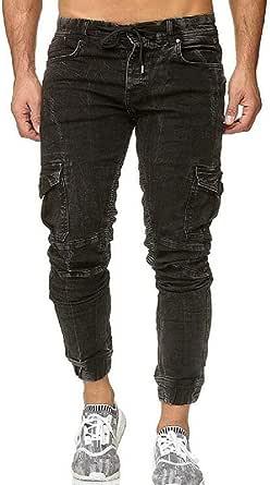 KLJR Men Summer Washed Regular Fit Mid Waisted Rugged Denim Shorts Jeans