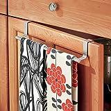 Hotel Towel Rack Shelf in Satin Nickel 18 - Mounted