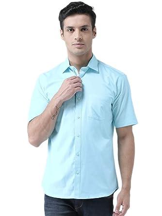 7cfab172c6 Zeal Half Sleeve Mens Shirt Cotton Casual Beach Wear Regular Fit ...