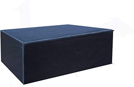Oferta amazon: Buzazz Fundas de Muebles Oxford Tela Impermeable Resistente al Polvo Anti-UV Protección Exterior Muebles de Jardín Cubiertas de Mesa y Silla Negro (200 x 160 x 70 cm)