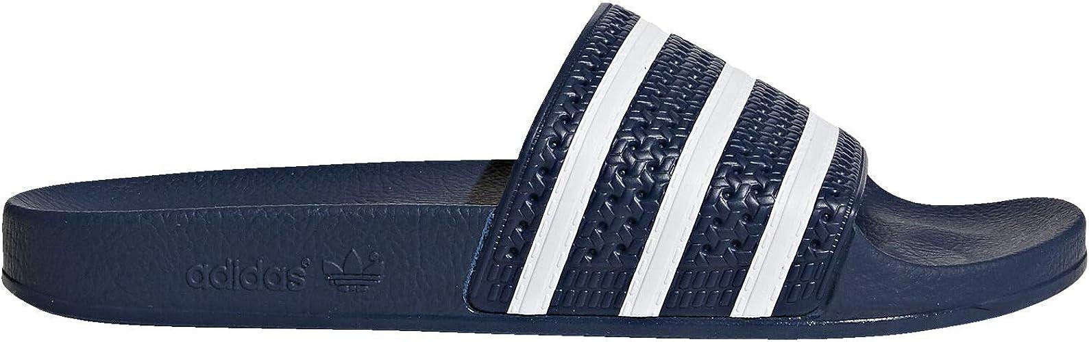adidas Originals Adilette white and black slider