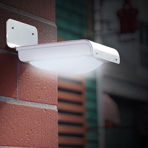 Bien-aimé LE L'énergie solaire éclairage LED à détecteur de mouvement  QI51