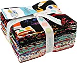 Crayola Art Box 15 Fat Quarters Riley Blake Designs FQ-6620-15