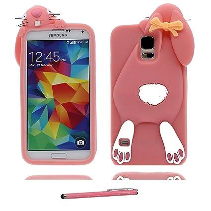 YuanYuZhongPhoneSky Samsung Galaxy S5 Carcasa, Case Suave ...