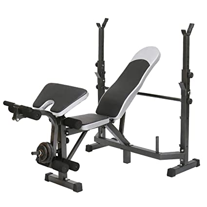 Awesome Amazon Com Cirocco Adjustable Weight Bench Press Incline Ibusinesslaw Wood Chair Design Ideas Ibusinesslaworg