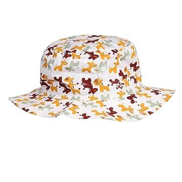Sombrero de pesca gorro de sol en algodón unisex gorra Capeline anti-UV protección solar