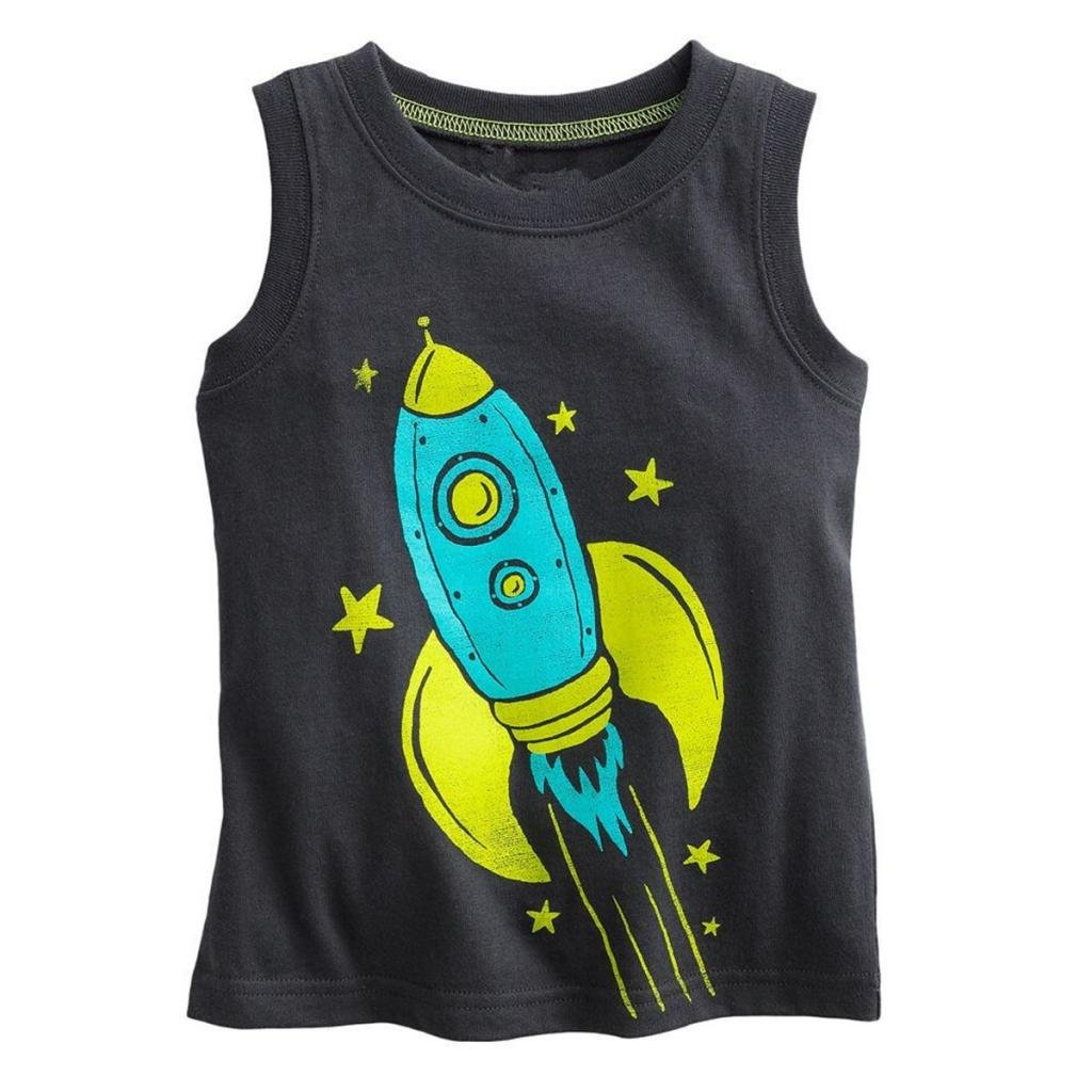 Baby Box Little Boys' kids Toddler Sleeveless Tank T-Shirts