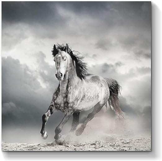 Cream, Choice Of Colours Black Surf Horses Cotton Shopping Bag