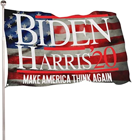 Amazon Com Sea Biden Harris 2020 Flag 3x5ft 4x6ft Colorfast Uv Resistant 100 Polyester Durable Outdoors Flag Garden Outdoor