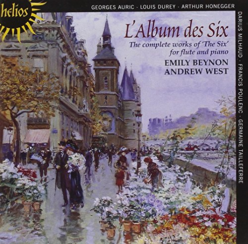 Album Works Cd - L'Album des Six - Works for flute and piano