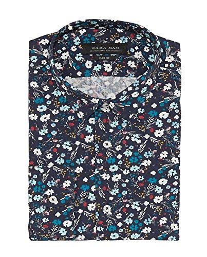 Zara Uomo Camicia Stampa Floreale 0070/301