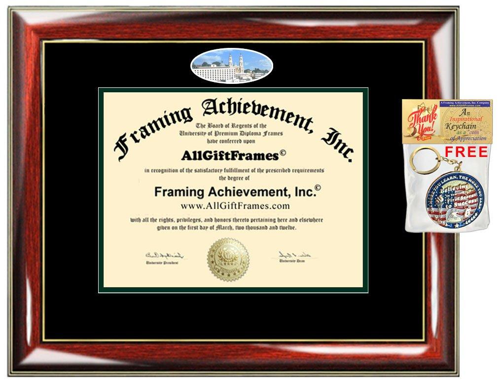 Amazon.com : University San Francisco Diploma Frame USF School ...