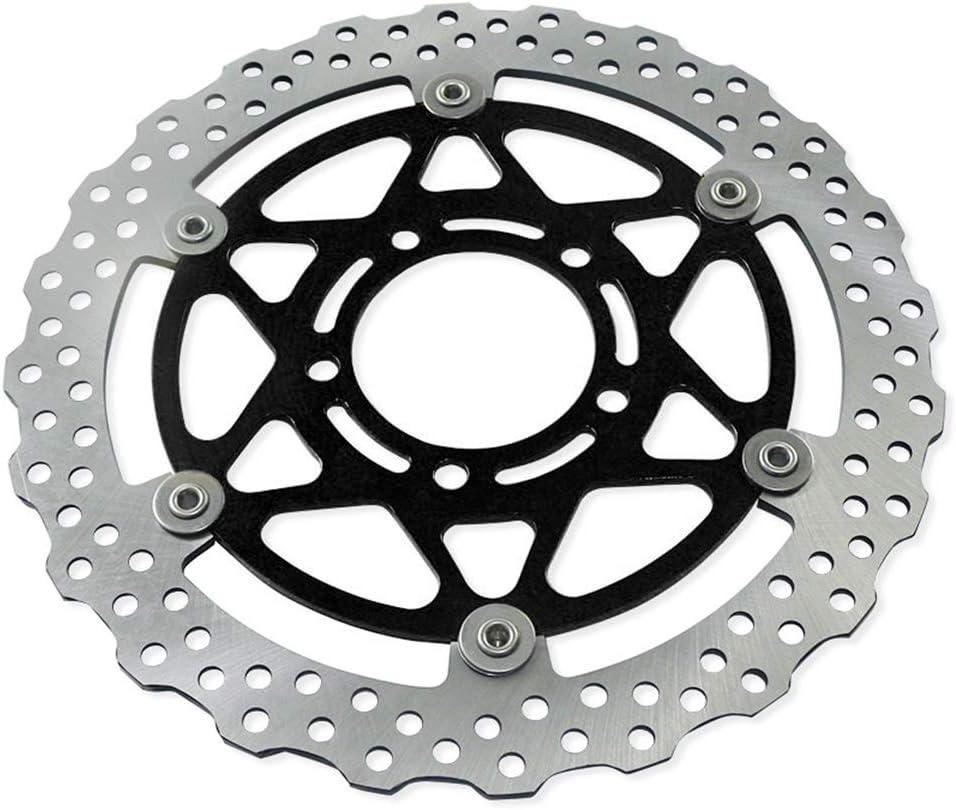 Black Hunter-Bike Front Disc Brake Rotors for Kawasaki Ninja ZX14 ZX-14R ZX14R ZX-6R ZX10R ZZR1400 GTR1400 Z800 ZG1400