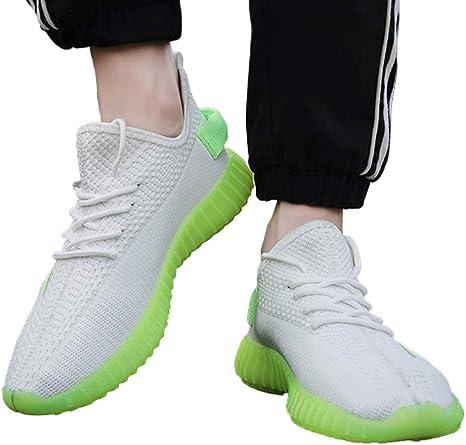 DJDJY 2020 - Zapatillas de correr transpirables para entrenar en carretera, fitness y deportes al aire libre: Amazon.es: Deportes y aire libre