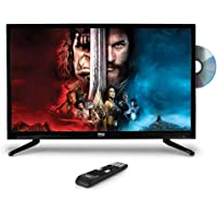 "Upgraded Premium 32"" DVD TV - 1080p Multimedia Disc Player, Ultra HD TV, LED Hi Res Widescreen Monitor w/ HDMI Cable RCA…"