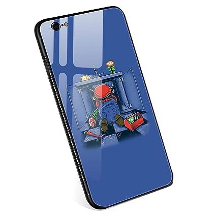 Amazon.com: Carcasa para iPhone 6, con cristal templado para ...