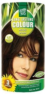 Henna Plus Long Lasting Colour - Mocha Brown 1 Box