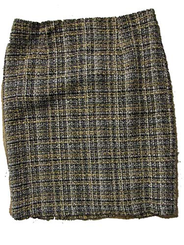 Sunny Leigh Women's Work Skirt 12 Petite Black Camel - Skirts Sunny Leigh