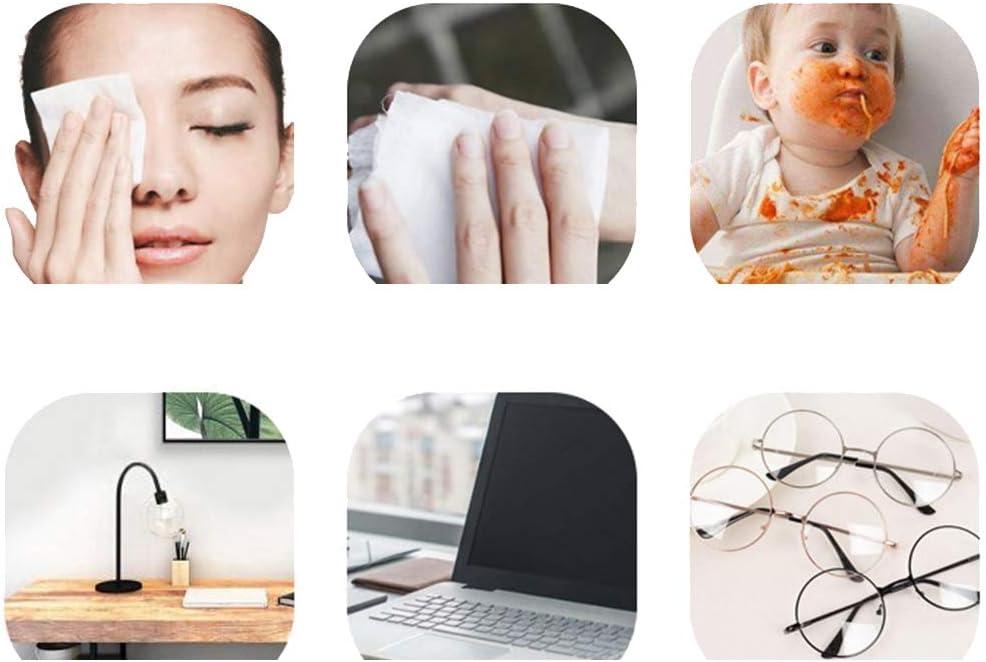 papier de d/ésinfection 75/% dalcool d/ésinfection /à lalcool lingettes 60 grands paquets de lingettes humides un paquet lingettes jetables antibact/érien lunettes de t/él/éphone portable trou dor