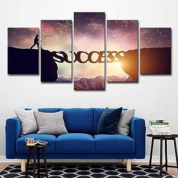Aeep Sunset Mountain Poster Camera da letto Soggiorno Sfondo ...
