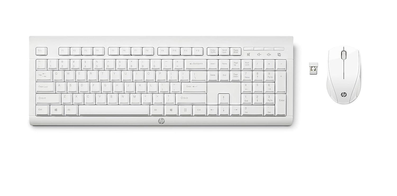 Combo inalámbrico HP C2710 -Tastiera AZERTY, Francia: Amazon.es: Informática