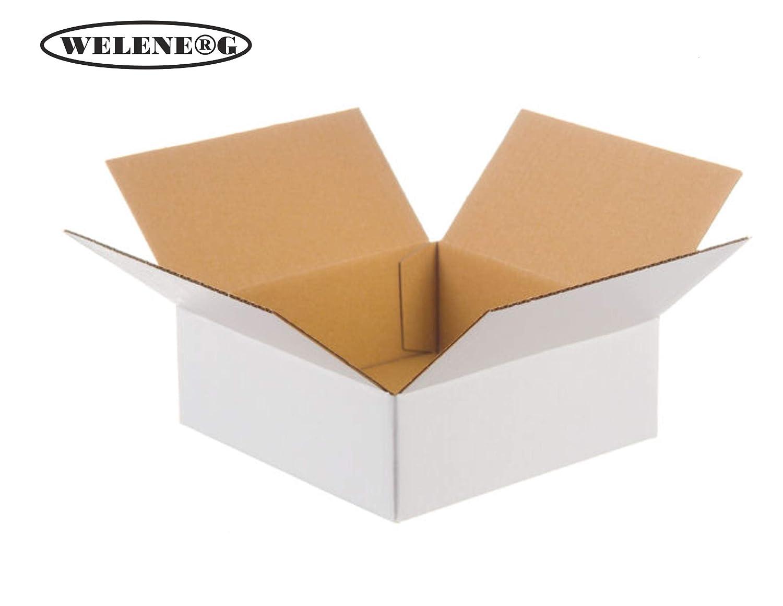 300   200x200x150 mm Faltkartons B-410g m2-1 m2-1 m2-1 wellig Versandkarton [ weiß ] B07GPKCZHP | Verschiedene Arten Und Die Styles  8308c1