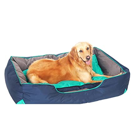 Dog bed Perrera de Perro de tamaño Grande y Mediano Perro Impermeable Cama de Perro Interior