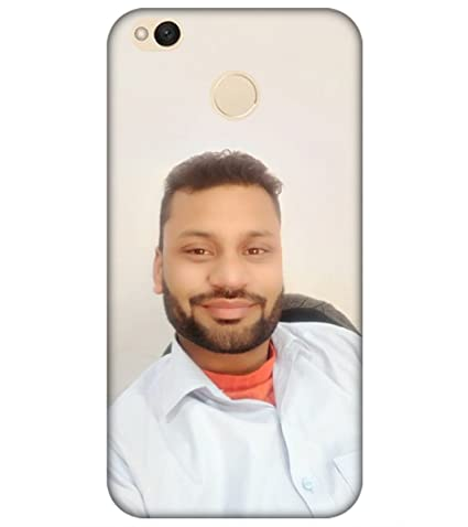 the latest aad24 b97ab Personalized Photo Cover for mobile Xiaomi Redmi 4;: Amazon.in ...