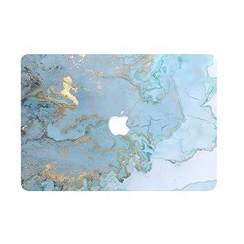 AQYLQ Funda MacBook Pro 13 Retina para Modelo: A1502 y A1425 Ultra Delgado Carcasa Rígida Protector de Plástico Cubierta, Dura de Goma con Acabado ...