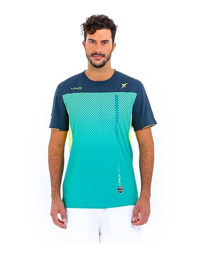 DROP SHOT Camiseta Electro Hombre Línea Competicion JMD: Amazon.es: Deportes y aire libre